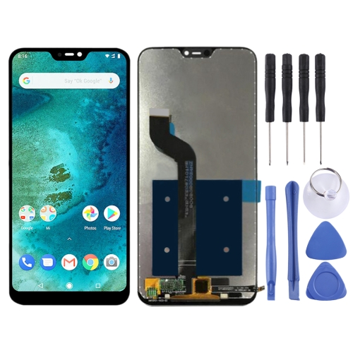 LCD Screen and Digitizer Full Assembly for Xiaomi Redmi 6 Pro (Mi A2 Lite)(Black)