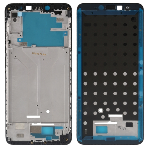 Front Housing LCD Frame Bezel for Xiaomi Redmi S2(Black)