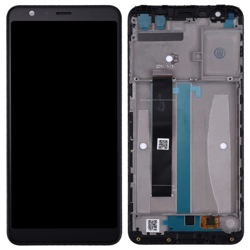 LCD Screen and Digitizer Full Assembly with Frame for Asus Zenfone Max Plus (M1) X018DC X018D ZB570TL