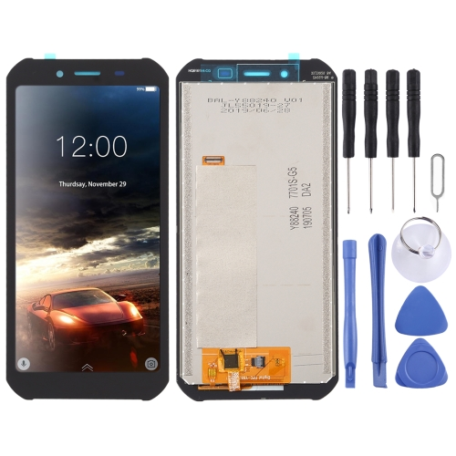 LCD Screen and Digitizer Full Assembly for Doogee S40(Black) фото