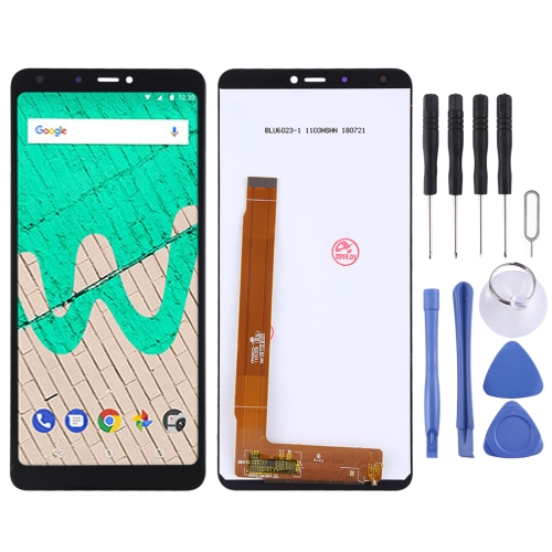 LCD Screen and Digitizer Full Assembly for Wiko View Max(Black)