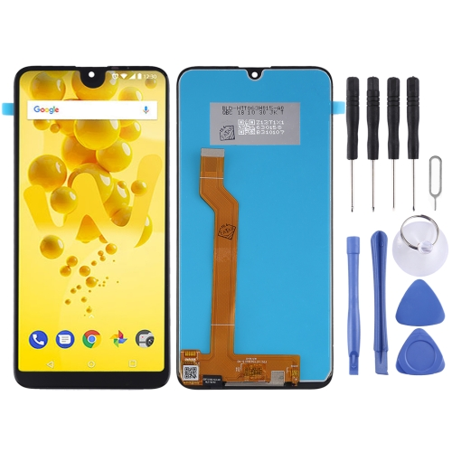 LCD Screen and Digitizer Full Assembly for Wiko View 3(Black)