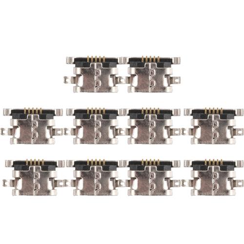 10 PCS Charging Port Connector for Xiaomi Redmi 6 Pro / Redmi Note 4 / Redmi Note 4X / Redmi 4 Prime