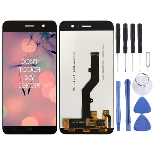 LCD Screen and Digitizer Full Assembly for ZTE Blade A520 (Black)