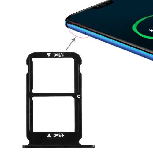 SIM Card Tray for Huawei Honor 10 (Black)