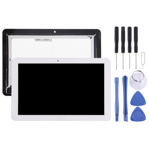 LCD Screen and Digitizer Full Assembly for Acer Iconia Tab 10 A3-A20 / 101-1696-04 V1 (White)