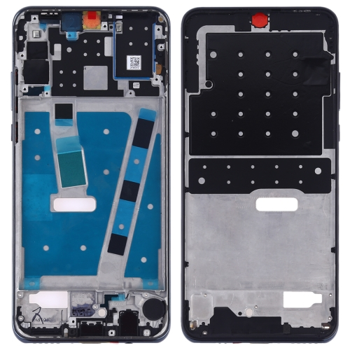 Middle Frame Bezel Plate with Side Keys for Huawei P30 Lite (24MP)(Black) фото