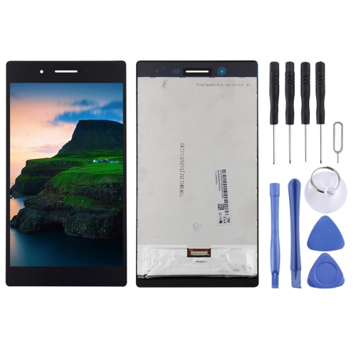LCD Screen and Digitizer Full Assembly for Lenovo Tab 3 7 inch / 730 / TB3-730 / TB3-730X / TB3-730F / TB3-730M(Black)