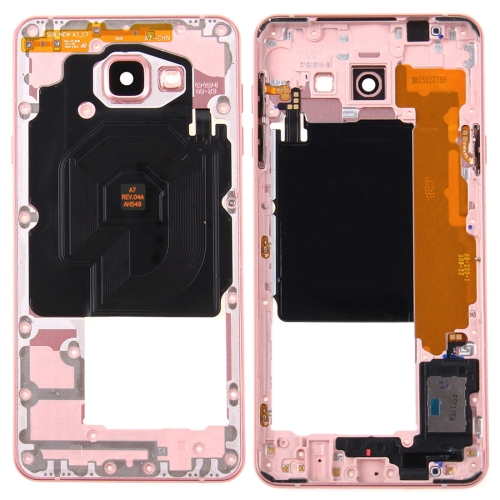 Buy iPartsBuy for Samsung Galaxy A7, 2016 / A7100 Middle Frame Bezel, Pink for $16.43 in SUNSKY store