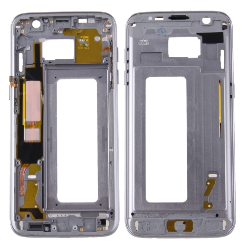 Buy iPartsBuy for Samsung Galaxy S7 Edge / G935 Front Housing LCD Frame Bezel Plate, Grey for $22.13 in SUNSKY store