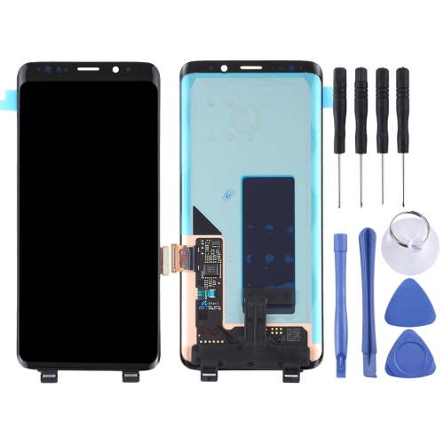 LCD Screen and Digitizer Full Assembly for Galaxy S9+ / G965F / G965F / DS / G965U / G965W / G9650(Black)