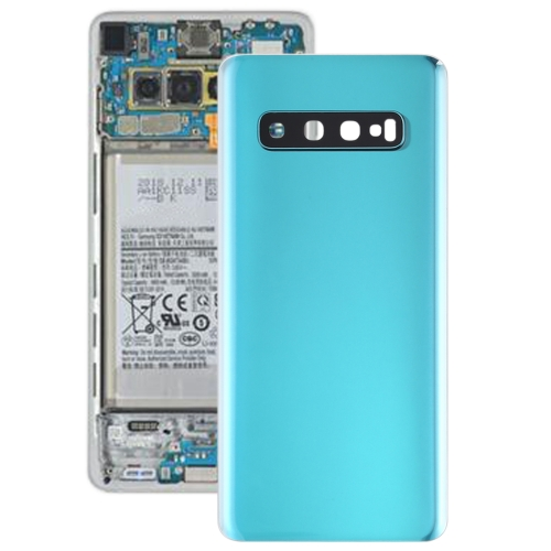 Battery Back Cover with Camera Lens for Galaxy S10(Green)