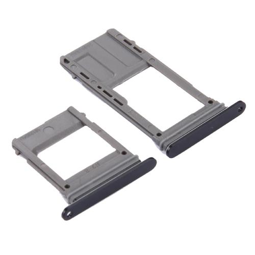 SIM Card Tray + Micro SD Card Tray, Single Card for Galaxy A5 (2017) / A520 & A7 (2017) / A720(Black) фото