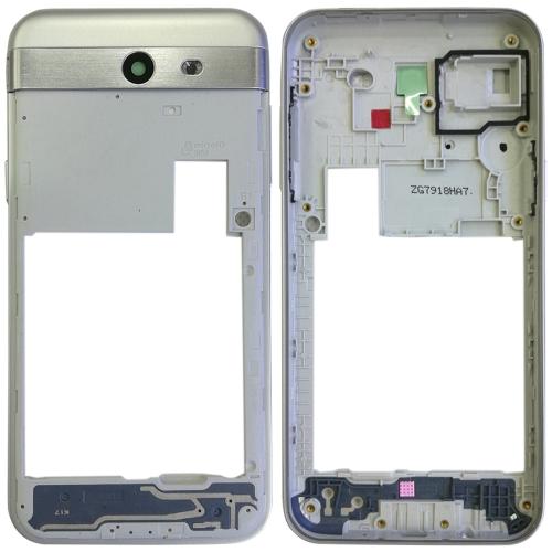 Rear Housing Frame for Galaxy J3 Emerge / J327 (Silver)