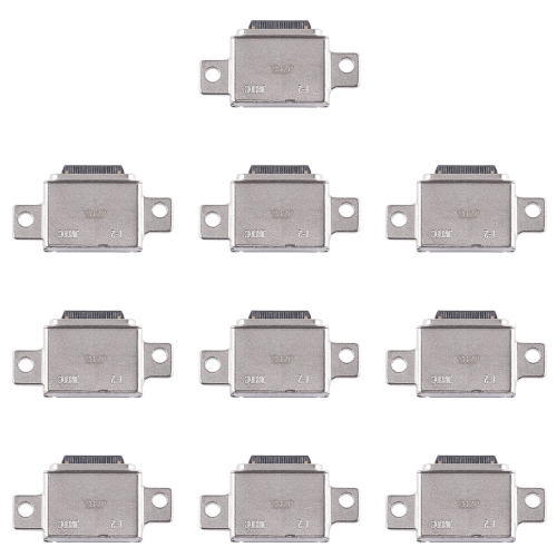 10 PCS Charging Port Connector for Galaxy S8+ / G955 / S8 / S9 2016 10 pcs 6 hole connector fiber optic for kavo handpiece