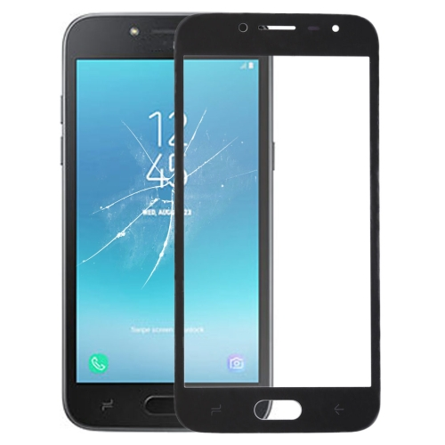 Front Screen Outer Glass Lens for Galaxy J2 Pro (2018), J250F/DS(Black)