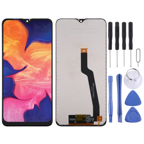 LCD Screen and Digitizer Full Assembly for Galaxy A10(Black) фото