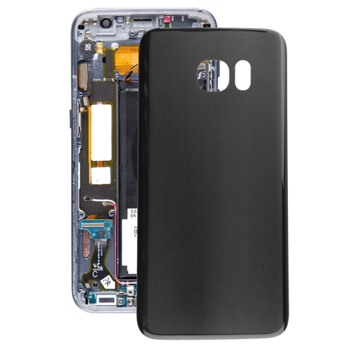 Battery Back Cover for Galaxy S7 Edge / G935 (Black)