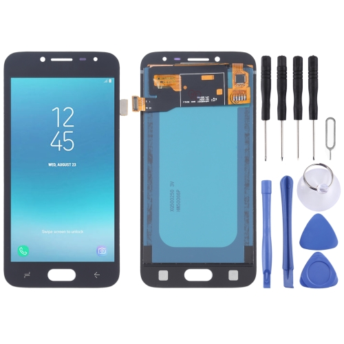 TFT Material LCD Screen and Digitizer Full Assembly for Galaxy J2 Pro (2018) J250F/DS(Black)