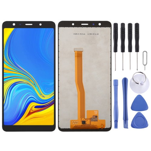 Incell LCD Screen and Digitizer Full Assembly for Galaxy A7 (2018) A750F/DS, A750G, A750FN/DS (Black) фото