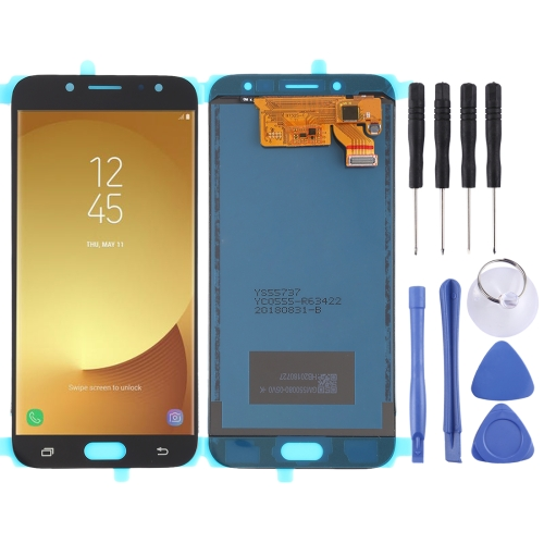 LCD Screen and Digitizer Full Assembly (TFT Material ) for Galaxy J7 (2017), J730F/DS, J730FM/DS(Black) фото