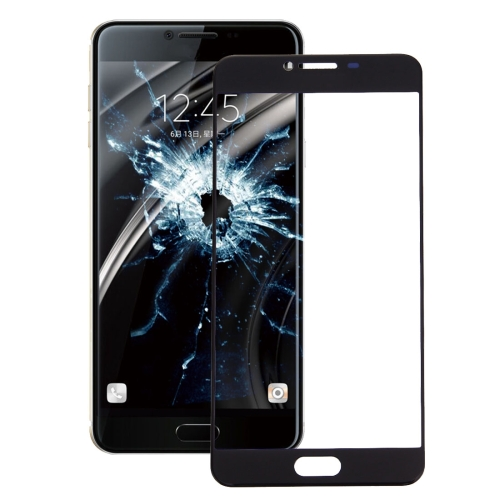Buy iPartsBuy for Samsung Galaxy C7 Front Screen Outer Glass Lens, Black for $1.74 in SUNSKY store