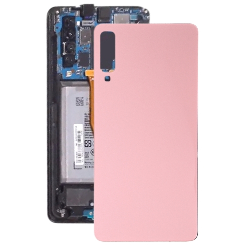 Original Battery Back Cover for Galaxy A7 (2018), A750F/DS, SM-A750G, SM-A750FN/DS(Pink)