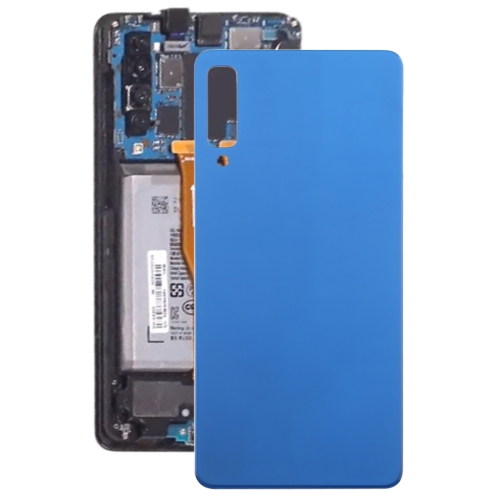 Original Battery Back Cover for Galaxy A7 (2018), A750F/DS, SM-A750G, SM-A750FN/DS(Blue)