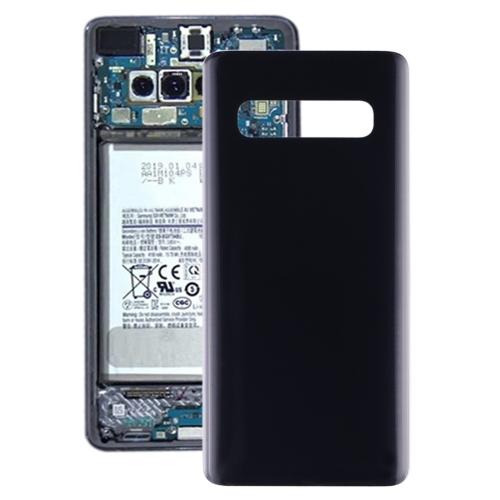 Original Battery Back Cover for Galaxy S10 SM-G973F/DS, SM-G973U, SM-G973W(Black)
