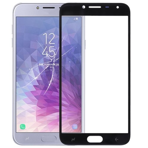 Front Screen Outer Glass Lens for Galaxy J4 (2018)(Black)