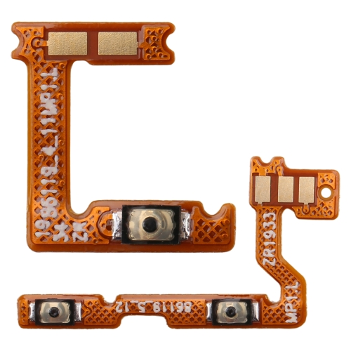 1 Pair Power Button & Volume Button Flex Cable for Galaxy A20S