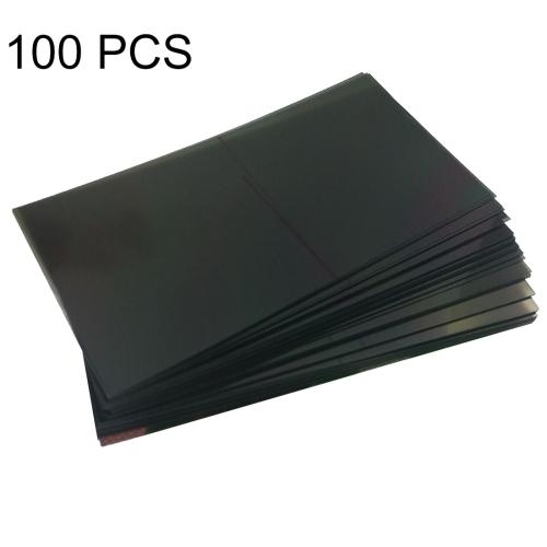 100 PCS LCD Filter Polarizing Films for Galaxy S6 Edge