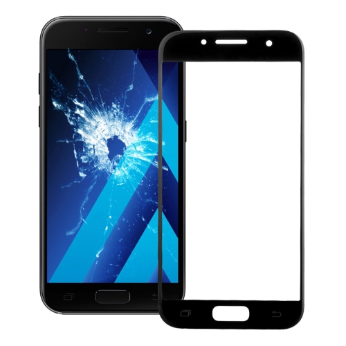 Front Screen Outer Glass Lens for Galaxy A5 (2017) / A520 (Black)