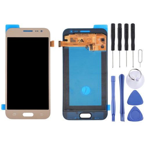 Buy iPartsBuy for Samsung Galaxy J2 Original LCD Display + Touch Screen Digitizer Assembly, Gold for $66.67 in SUNSKY store