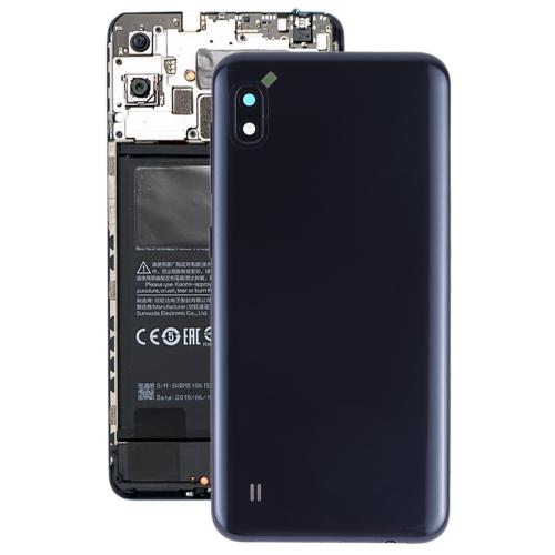 Battery Back Cover with Camera Lens & Side Keys for Galaxy A10 SM-A105F/DS, SM-A105G/DS(Black) фото