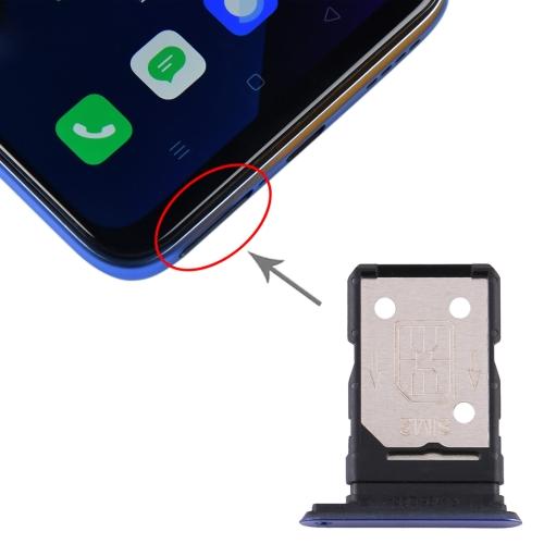 SIM Card Tray + SIM Card Tray for OPPO Realme X50 5G (Purple) фото