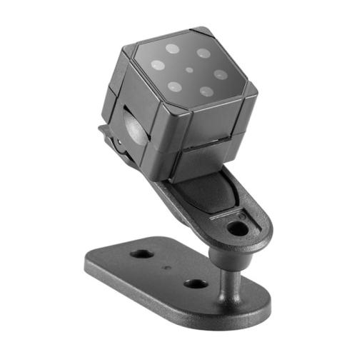 SQ19 HD 1080P 30fps Ultra-Mini DV Pocket Digital Video Recorder Camera Camcorder, Support Motion Detecting & IR Night Vision (Black)