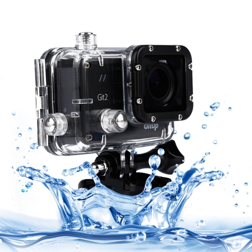 Buy GitUp Git2 Professional Edition 2K 1440P Waterproof 30m WiFi Action Camera DV, Black for $130.31 in SUNSKY store