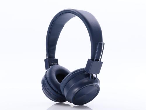 Z3-20 Head-mounted Card Phone Small Wireless Bluetooth Headset Stereo Headphones(Blue)