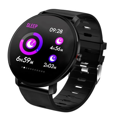K9 1.3 inch IPS Color Screen Smartwatch IP68 Waterproof, Support Call Reminder /Heart Rate Monitoring /Blood Pressure Monitoring/Sleep Monitoring/Blood oxygen monitoring(Black)