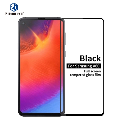 PINWUYO 9H 2.5D Full Glue Tempered Glass Film for Galaxy A60