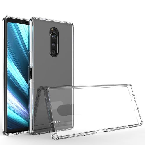 Scratchproof TPU + Acrylic Protective Case for Sony Xperia 1(Transparent)