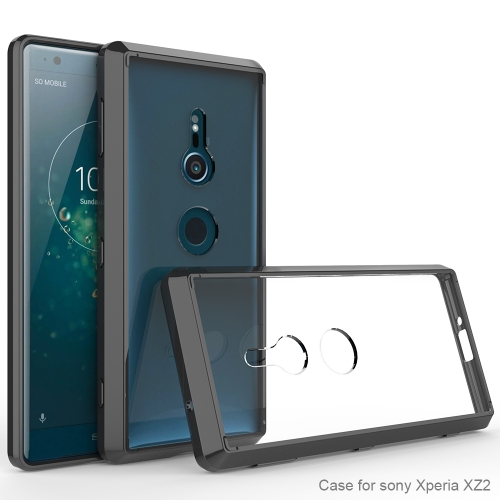 Scratchproof TPU + Acrylic Protective Case for Sony Xperia XZ2(Black)