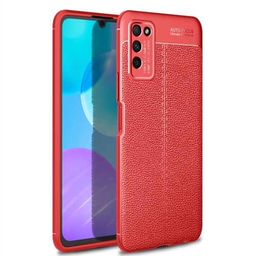 For Honor 30 Lite / 30 Youth   Litchi Texture TPU Shockproof Case(Red)
