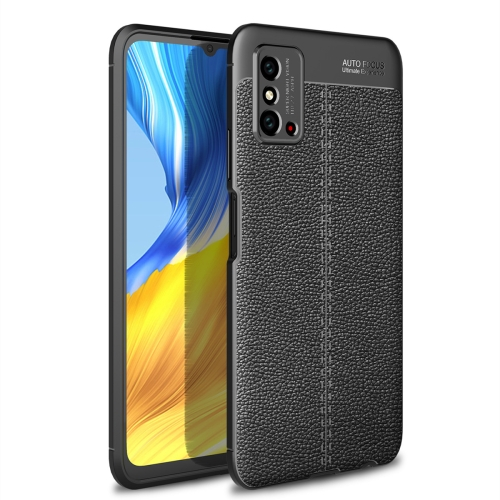 For Honor X10 Max 5G   Litchi Texture TPU Shockproof Case(Black)