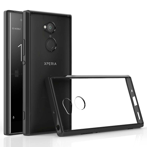 Scratchproof TPU + Acrylic Protective Case for Sony Xperia XA2 Ultra(Black)