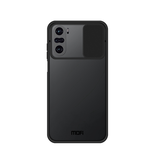 For Xiaomi PocoF3 / Mi 11i / Redmi K40 / K40 Pro / K40 Pro+ MOFI Xing Dun Series Translucent Frosted PC + TPU Privacy Anti-glare Shockproof All-inclusive Protective Case(Black)  - buy with discount