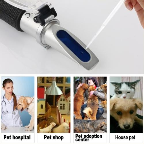 Pet dog cat serum protein plasma hemoglobin tester urine specific gravity RZ126