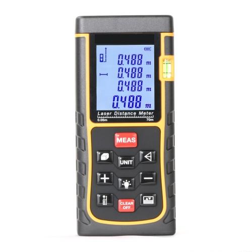 SNDWAY Handheld Laser Range Finder SW-E70