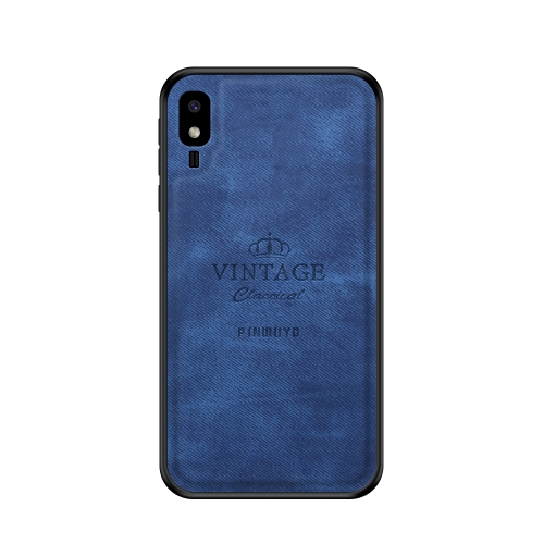 PINWUYO Shockproof Waterproof Full Coverage PC + TPU + Skin Protective Case for Galaxy A2 Core(Blue)
